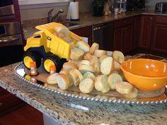Genial idea para aperitivo de una fiesta de cumpleaños de la Patrulla Canina.#PatrullaCanina #fiestadecumpleaños