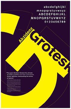 Akzidenz Grotesk on RISD Portfolios Typo Poster, Poster Fonts, Typographic Poster, Typographic Design, Graphic Design Fonts, Typo Design, Web Design, Typography Layout, Typography Letters