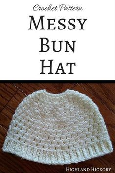 Free crochet pattern for women's winter wear. Make the Jess Mess-y Bun Hat in any color of the rainbow, but don't forget to add the matching infinity scarf.