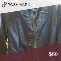 Leather jacket The Gap leather jacket nice and versatile for any Occasion. The Gap  Jackets & Coats