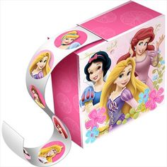 Disney Princess 'Fanciful Princesses' Sticker Boxes