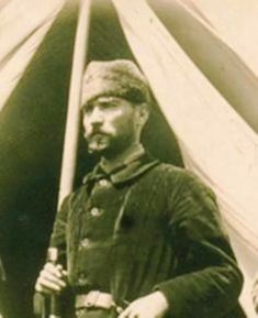 He's Handsome In Any Way! 15 Proof that our ancestor is always and very charismatic in all circumstances - prit pins Ww1 Soldiers, Ottoman Turks, Turkish Army, The Legend Of Heroes, Beard Look, The Turk, Cultural Identity, Great Leaders, World Peace