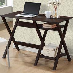 CorLiving Scissor-leg 2-shelf Folio Desk - Overstock™ Shopping - Great Deals on CorLiving Desks