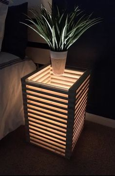 Diy Home Decor Projects, Home Crafts, Wood Projects, Casual Home Decor, Easy Home Decor, Into The Woods, Wooden Lamp, Wood Design, Design Design