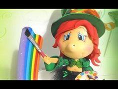 Como pintar olhos usando carimbo - YouTube