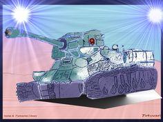 El tanque soleado Zirtuyari.