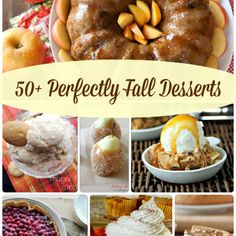 50+ Perfectly Fall Desserts