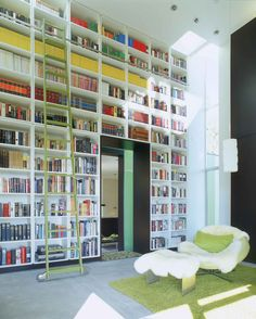 Wall of books. YES PLEASE. Make them scripts, and I'll do a backflip off of that wall.