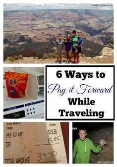 6 Ways to Pay it Forward while Traveling | Ideas that Give Back