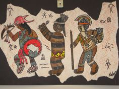 Jamestown Elementary Art Blog: 5th Grade Native American Figure Drawing