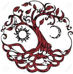Tree of life Spiritual Symbols Tree of life Spiritual Symbols Spiritual Symbols, Celtic Symbols, Celtic Art, Mayan Symbols, Egyptian Symbols, Ancient Symbols, Spiritual Drawings, Celtic Knots, Irish Celtic