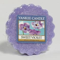 Yankee Candles Candle Wax, Candle Melts, Scented Candles, Yankee Candles, Sweet Violets, Wax Tarts, Candels, Candle Holders, Make It Yourself
