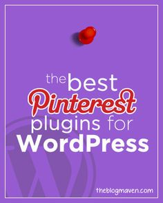 7 awesome pinterest plugins for wordpress  - Get great news and information like this at http://blog.hepcatsmarketing.com