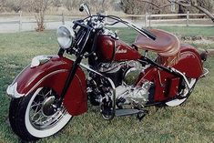 1947 Indian Chief Left Side