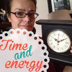 Organized Mom: Time & Energy