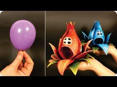 ❣DIY Fairy House Flower Using a Balloon❣ - YouTube