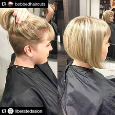 Shornnape #SHNFEED submit your Undercuts - We too #Repost @bobbedhaircuts with @repostapp....