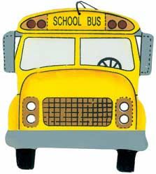 Wood School Bus Ornament - Home Decor Bus Driver Gifts, School Bus Driver, School Buses, Energy Bus, Wood School, Morale Boosters, Christmas Lights, Christmas 2019, Christmas Ornaments