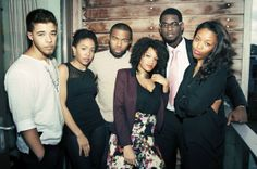 The Strivers Row - a collective of poets and spoken word artists. From left to right: Miles Hodges, Zora Howard, Joshua Bennett, Alysia Harris, Carvens Lissaint, and Jasmine Mans. All immensely talented people.