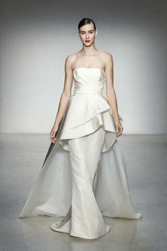 AMSALE - Hudson...Love the silhouette. Chang the color to fit your wedding theme. Ask your seamstress for suggestions.