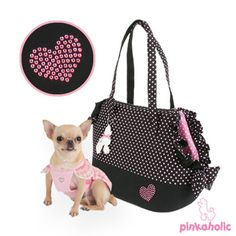 Dog Carriers Cute Loveholic II-dog carriers Dog Purse, Dog Bag, Doggy Clothes, Dog Clothes Patterns, Pet Boutique, Doggy Stuff, Dog Items, Dog Carrier, Yorkies
