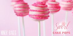 CANDY IDEA: Tutorial for how to make Swirl design on Cake Pops