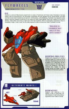 Transformers Universe - Gallery: G1 Flywheels