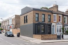 Victorian · Architecture & Design in Hackney Victorian Architecture, Architecture Design, Yellow Cloud, House Extensions, Tiny House Design, Exterior Design, Mansions, The Originals, Studio