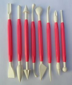 Cake Decorating Equipment Tools 16 Modelling Set Sugarcraft Craft UK New (Baking Tools And Equipment) Wilton Cake Decorating, Cake Decorating Supplies, Baking Supplies, Baking Tools, Cookie Decorating, Decorating Tips, Cake Decorating Equipment, Baking Gadgets, Cupcake Cakes