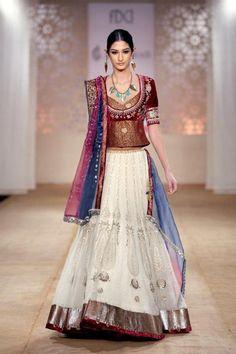 Anju Modi Bridal Lehenga