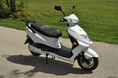 2014 Flux Mopeds EM1 electric scooter