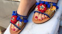 Sandalias de cuero Lazy Daisy