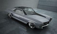 """Przejrzyj mój projekt w @Behance: """"Buick Riviera"""" https://www.behance.net/gallery/30857677/Buick-Riviera"""