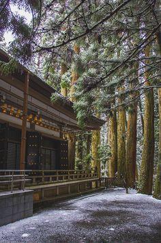 Koyasan temple, Wakayama, Japan