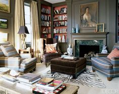 Contemporary Celebrity Home Interior Decorating Ali Wentworth – Family Room Design Ideas, Photo Contemporary Celebrity Home Interior Decorating Ali Wentworth – Family Room Design Ideas Close up View. Home Interior, Interior Decorating, Interior Design, Modern Interior, Decorating Ideas, Decor Ideas, Gothic Living Rooms, Living Room Designs, Living Spaces