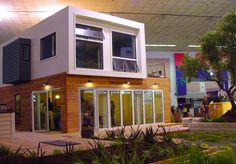 PREFAB FRIDAY: Recycled Shipping Container Harbinger House – Inhabitat - Sustainable Design Innovation, Eco Architecture, Green Building