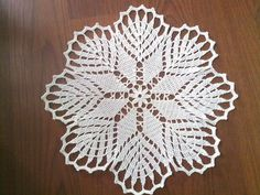 Crochet Doily Crochet Doilies White Crochet by CrochetMiracles, $15.90