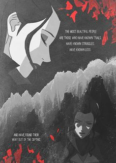 Asami was constructed to be the opposite of Azula (at least to me). Asami chose to grieve and cope rather than hate like her father did.