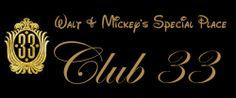 Club 33 Info page