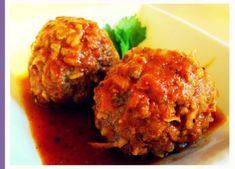 Hedgehog Meatballs