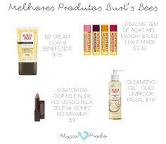 Marcas de maquiagem baratinhas: Burt's Bees