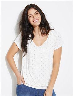 8fa9be4f18440 Maternity   Nursing Adaptable Double Panel T-shirt