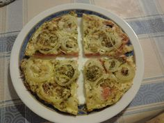 TortiPizza de verduras. comerporlamirada