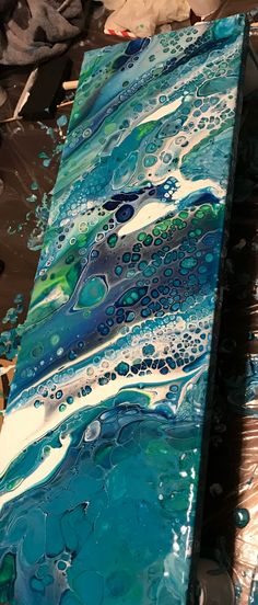 https://www.etsy.com/shop/GulfCoastAcrylics Coming soon to #etsy acrylic pour painting abstract art #abstractart