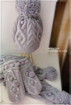 Комплект спицами. | Шапки, шарфы, палантины... | Постила