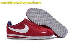 new concept 52adc 9c690 Kopen Nike Classic Cortez Nylon Heren Loopschoenen Borduurwerk Rood Blauw  Wit Cortez Ultra, Nike Cortez
