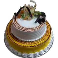 2 Tier Fresh Fruit Cake Birthday DeliveryCake Home DeliveryOnline