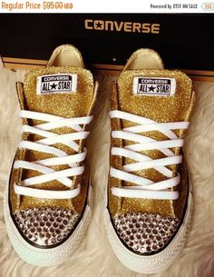 f43cede286c44 17 Best Bling Gym shoes images in 2018 | Shoes, Wedding converse ...