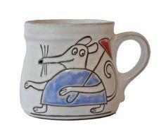 Hrnek myš s deštníkem - objem 300 ml Mugs, Tableware, Dinnerware, Tumblers, Tablewares, Mug, Dishes, Place Settings, Cups