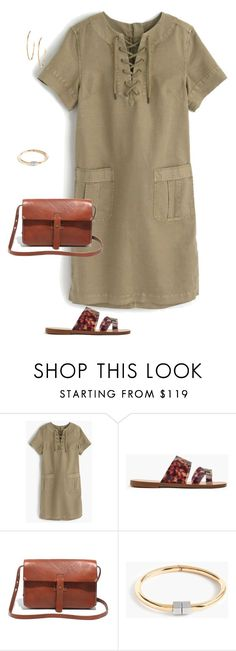 """Untitled #4130"" by shopwithm ❤ liked on Polyvore featuring J.Crew, Madewell and Argento Vivo"
